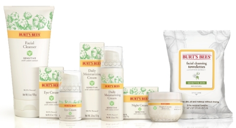 Burt's Bees Sensitive Skin (Photo: Business Wire)