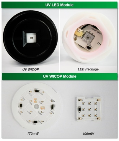 Seoul Viosys's UV WICOP which combines Seoul Semiconductor's WICOP LEDs technology (Graphic: Busines ...
