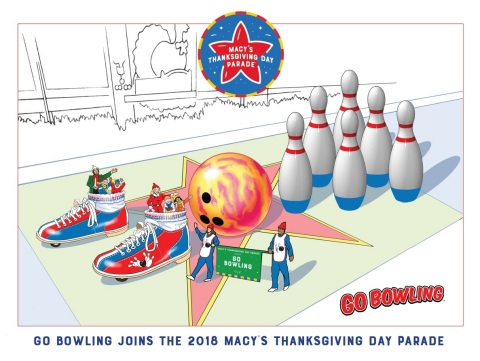 Bowling will be featured for the first time in the Macy's Thanksgiving Day Parade with an interactiv ...