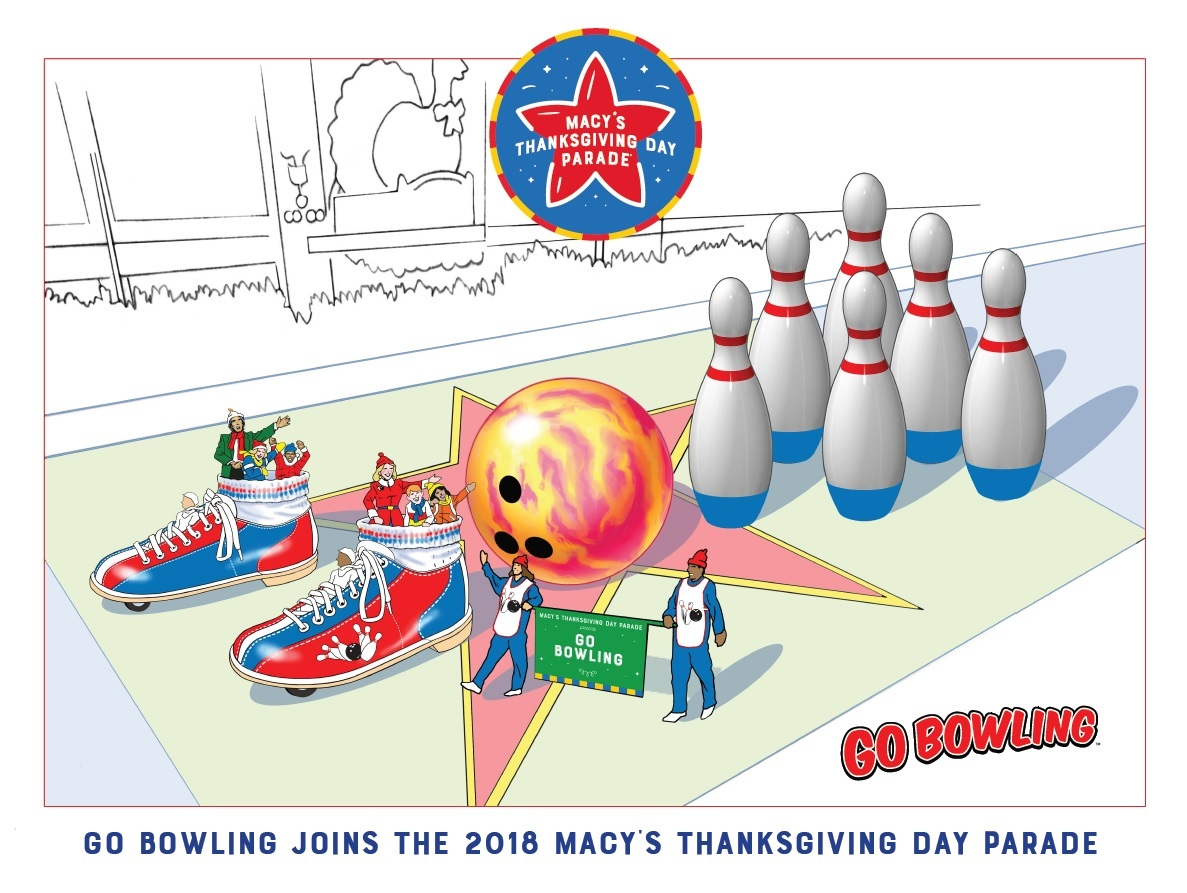 go bowling scores a turkey in the 92nd annual macy s thanksgiving
