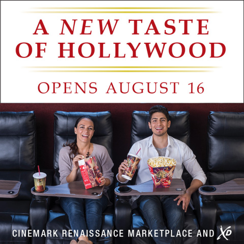 The Cinemark Renaissance Marketplace and XD Theatre Boasts Luxury Lounger Recliners, an XD Auditoriu ...