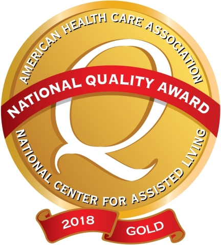 Sunrise of Gurnee becomes one of the first two assisted living providers to be awarded the Gold Nati ...