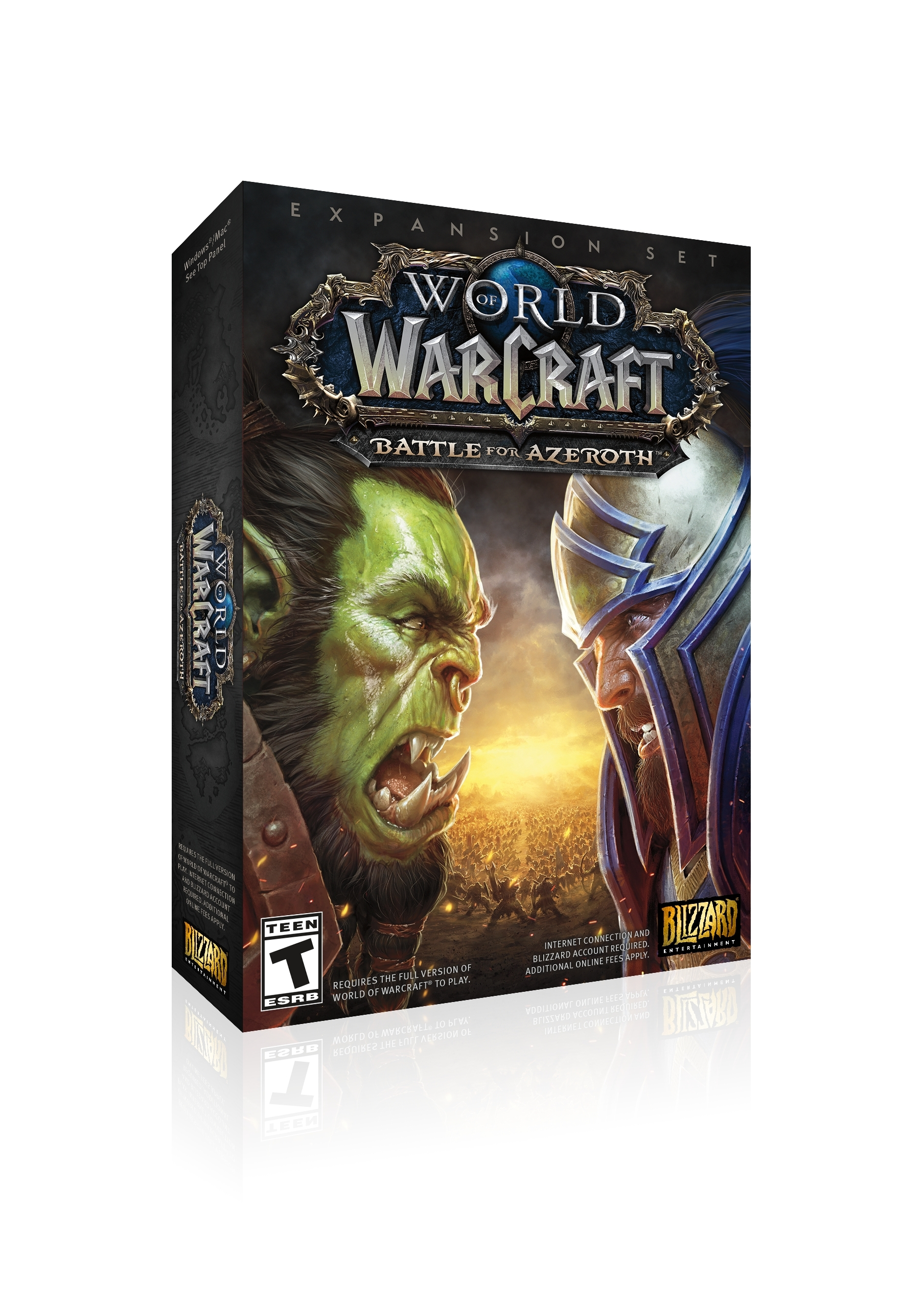 Conflict Consumes World of Warcraft®—The Battle for Azeroth™ Has