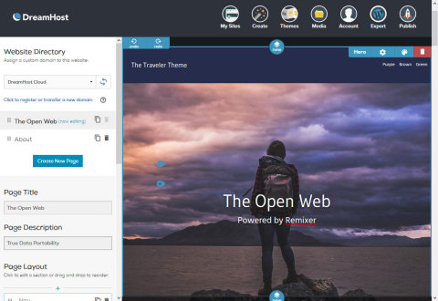 To date, Remixer is the only standalone website builder with the ability to export websites and thei ...