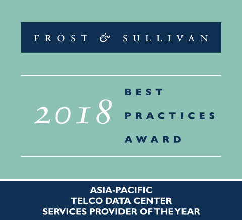 2018 Frost & Sullivan Asia-Pacific Telco Data Center Services Provider of the Year (Graphic: Business Wire)