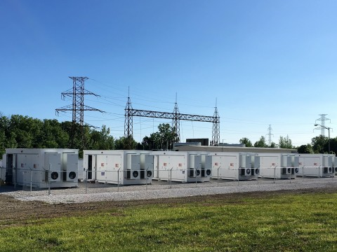 Convergent Commissions the Biggest Behind-the-Meter Energy Storage System in North America; IHI, Inc. provides an energy storage system for Convergent to reduce Global Adjustment charges (Photo: Business Wire)