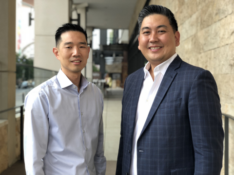 AuditBoard co-founders Daniel Kim and Jay Lee. (Photo: Business Wire)