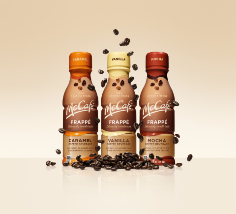 McCafé Frappés deliver a cafe-quality coffee on-the-go, now in a bottle. (Photo: Business Wire)