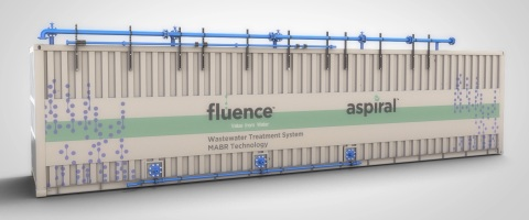 Fluence's Smart Packaged MABR-based Aspiral™ wastewater treatment solution will be deployed in Manil ...