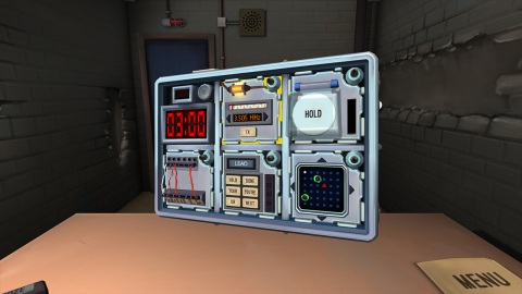 In the Keep Talking and Nobody Explodes game, one player is trapped in a room with a ticking time bo ...