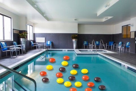 An indoor pool and a whirlpool are open until 11 PM every evening (Photo: Business Wire)