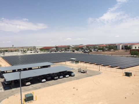 Solar Energy System in El Paso, Texas (Photo: Business Wire)