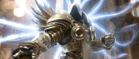 The mighty archangel Tyrael from Diablo III (Graphic: Business Wire)