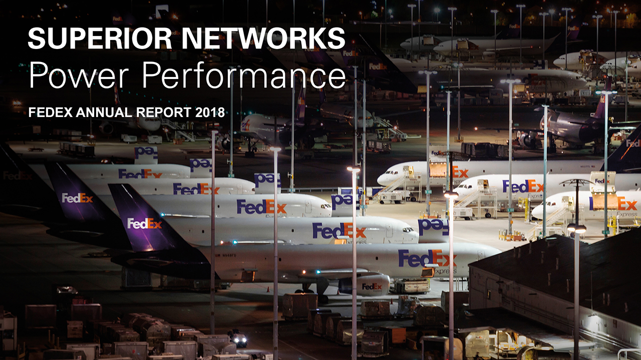 The FedEx World Hub in Memphis, Tennessee, is the core of our global network and home to FedEx Express, the world's largest all-cargo airline. We're planning a multiyear program to modernize the facility to increase efficiency.