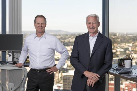 Steve Sefton, President & Dan Yates, CEO (Photo: Business Wire)