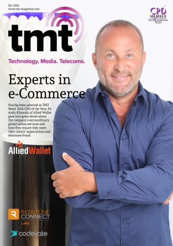 Dr. Andy Khawaja is TMT magazine's CEO of the Year. (Graphic: Business Wire)