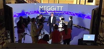 Media demonstration of Meggitt's newest system, FATS® 300LE (photograph courtesy of Gwinnett County  ...