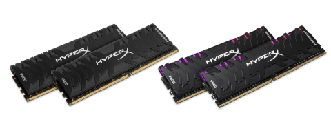 HyperX expands Predator DDR4 RGB and Predator DDR4 memory lineup. (Photo: Business Wire)
