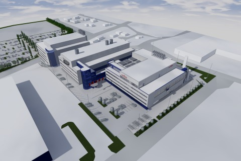 New factory of Murata Electronics Oy (Graphic: Business Wire)