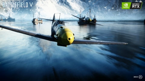 In Partnership with NVIDIA, DICE Showcases Stunning Real-Time Ray Tracing in Battlefield V Powered by All-New GeForce RTX™ GPUs (Graphic: Business Wire)