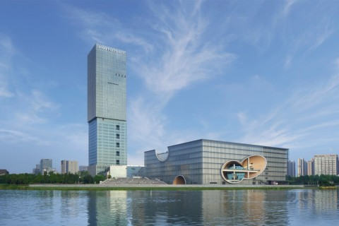 Exterior view of Hyatt Regency Shanghai Jiading. (Photo: Business Wire)
