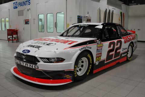Team Penske NASCAR #22 Discount Tire car (Photo: Team Penske)