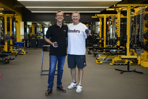 Pictured: Dan Stevenson (chief executive officer of Activbody) and Garrett Giemont (strength and con ...