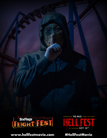 """Room by room, guests must find their way out, or risk being trapped by """"The Other,"""" the movie's deranged antagonist. Hell Fest to be released by CBS Films and Lionsgate. (Photo Credit: Jackson Lee Davis/CBS Films)"""