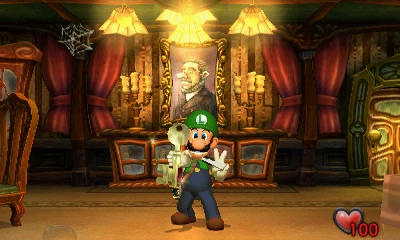 This October, everyone's favorite video game scaredy-cat Luigi is returning to a haunted mansion he hasn't visited since 2001. (Graphic: Business Wire)