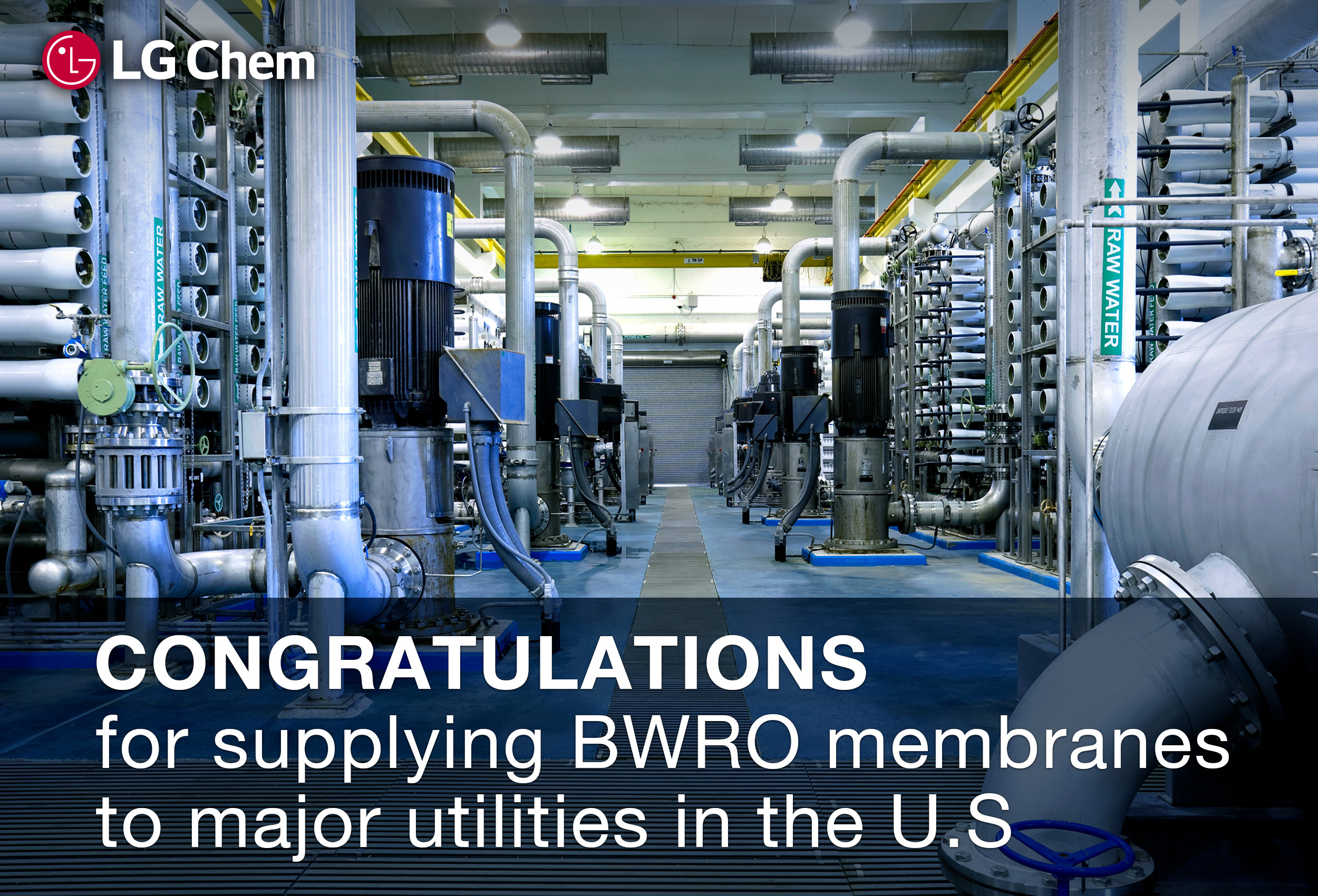LG Chem Marches into the Brackish Water RO Market After Establishing ...