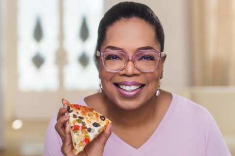 Oprah with O, That's Good! Fire Roasted Veggie Pizza (Photo: Business Wire)