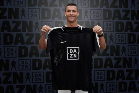 Cristiano Ronaldo signs to sports streaming service DAZN as a global brand ambassador until 2021 (Photo: Business Wire)
