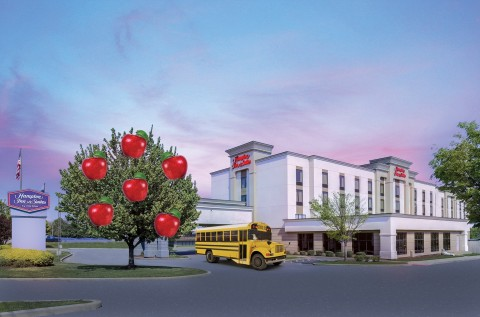 The Hampton Inn & Suites New Haven-South-West Haven. (Photo: Business Wire)