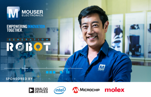 Global distributor Mouser Electronics and engineer spokesperson Grant Imahara team up to present the ...