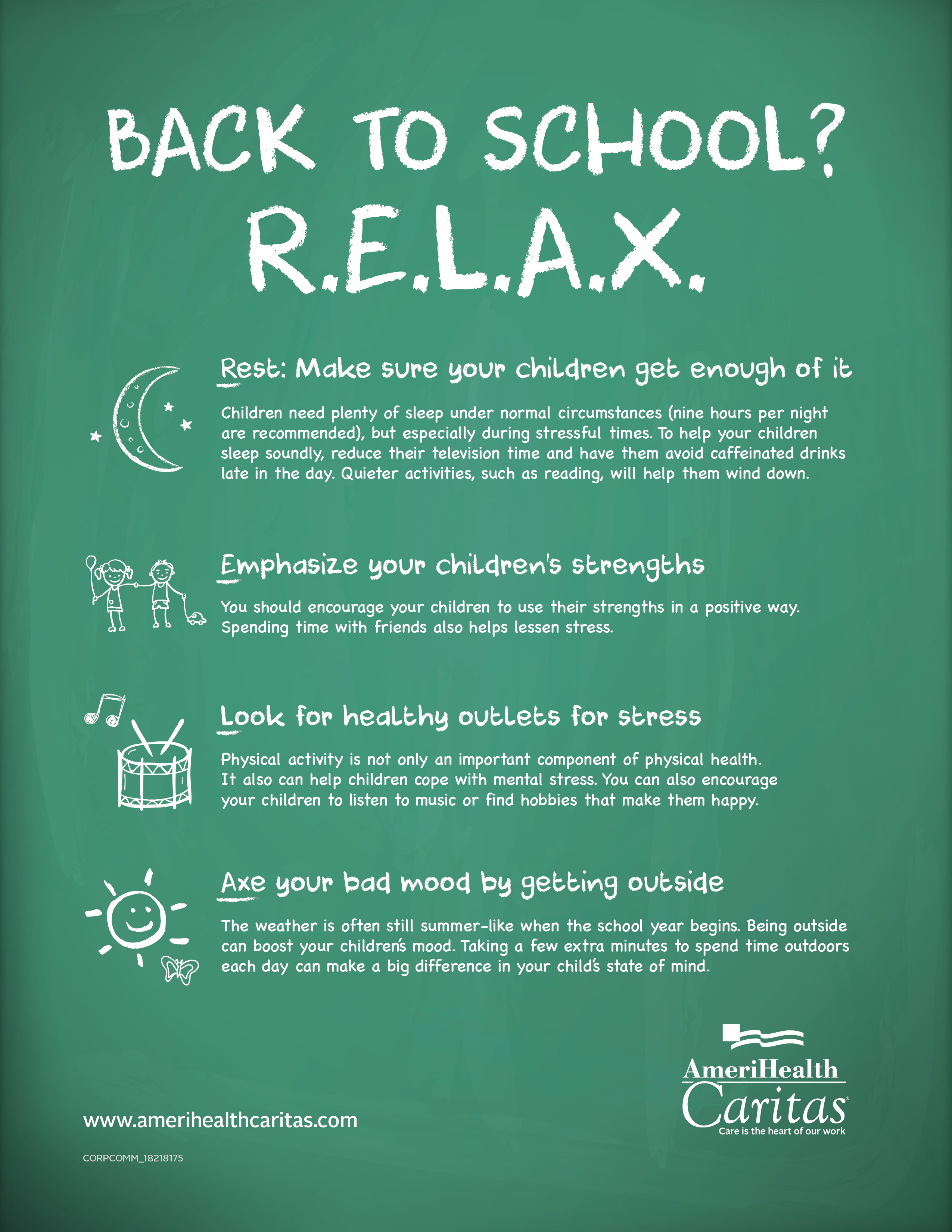 Going Back to School? R.E.L.A.X. | Business Wire