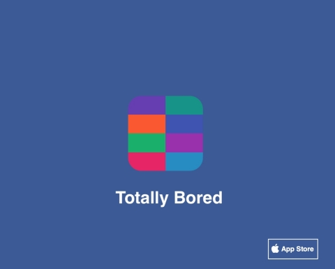 Totally Bored, available for download at the Apple App Store (Graphic: Business Wire)