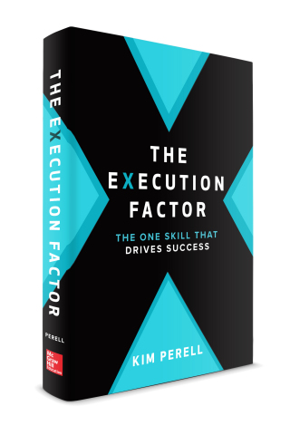 """""""The Execution Factor - The One Skill That Drives Success"""" is now available for pre-order. (Graphic: Business Wire)"""