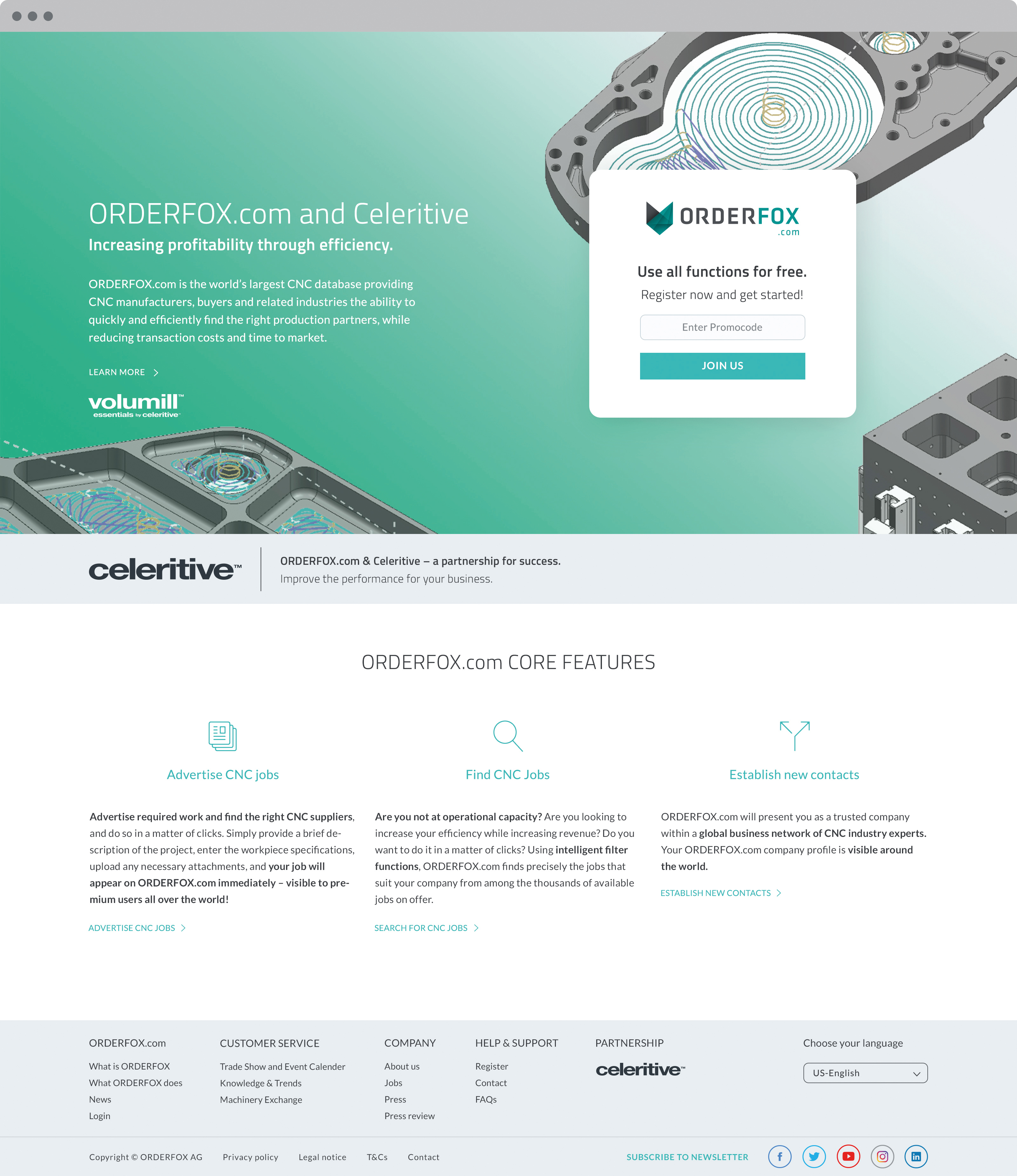Celeritive Technologies Signs Strategic Partnership with ORDERFOX ...