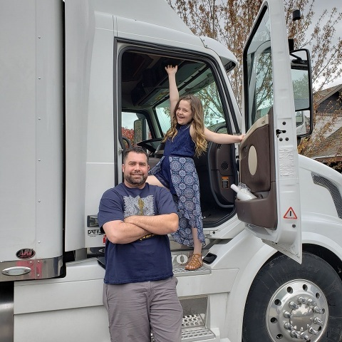 Love's Travel Stops kicks off 19th annual campaign to raise money for Children's Miracle Network Hospitals. Love's is helping children like Chloe, a Miracle Child, who has a dad that is a professional truck driver. (Photo: Business Wire)