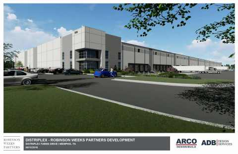 Robinson Weeks Partners Memphis Global Crossing building rendering (Photo: Business Wire)