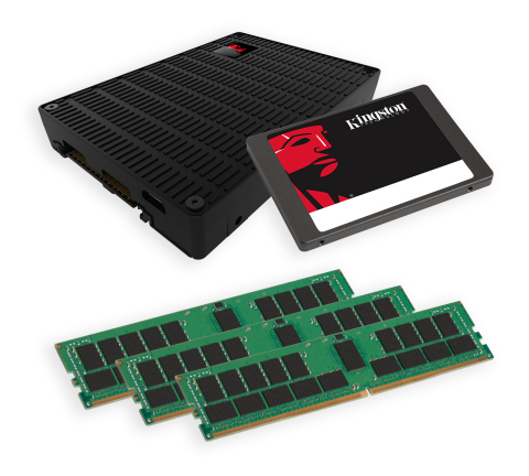 Kingston will demonstrate its upcoming NVMe SSD solutions for data centers as well as the latest in  ...