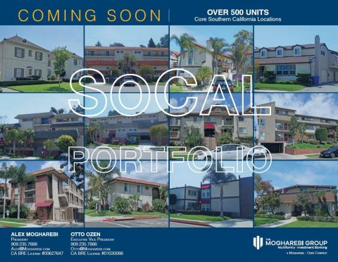Coming Soon | 500+ Units in Core Southern California (Graphic: Business Wire)