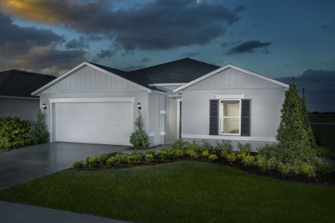 New KB homes now available in Mascotte, Florida! (Photo: Business Wire)