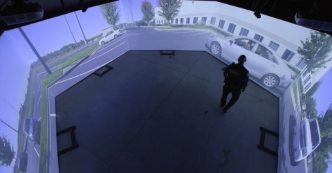 300-degree view of Meggitt Training Systems FATS® 300LE (Photo: Business Wire)