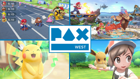 Some of the most anticipated Nintendo Switch games of the upcoming holiday season are coming to this year's PAX West expo in Seattle from Aug. 31 to Sept. 3. (Graphic: Business Wire)