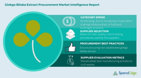 Global Ginkgo Biloba Extract - Procurement Market Intelligence Report (Graphic: Business Wire)