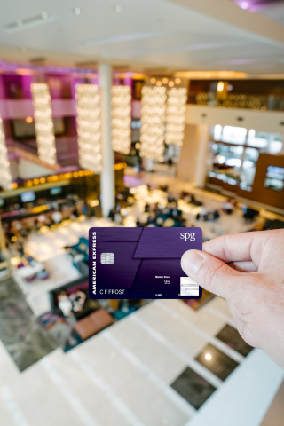 The new Starwood Preferred Guest® American Express Luxury Card (Photo: Business Wire)