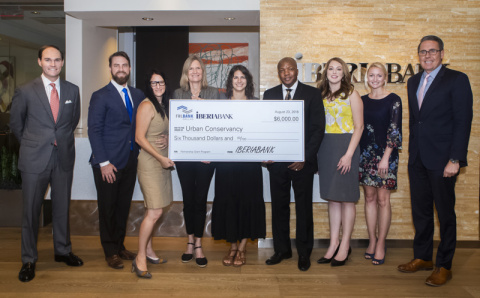 New Orleans-based nonprofit the Urban Conservancy received a $6,000 Partnership Grant Program award from IBERIABANK and FHLB Dallas to help local entrepreneurs. (Photo: Business Wire)