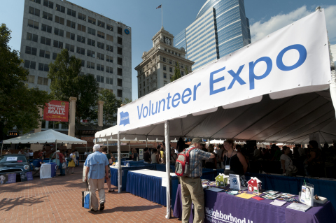 On Thursday, Sept. 6, 2018, Portland, Oregon's, largest volunteer expo returns to Pioneer Square for ...
