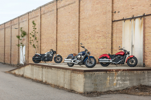 2019 Scout family (Photo: Indian Motorcycle)
